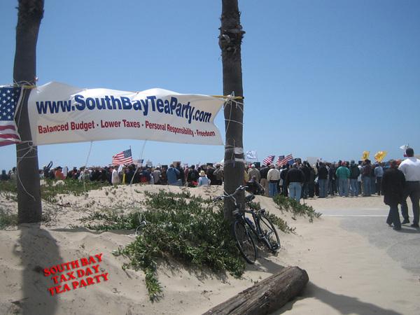 Tea Party Crowd Shot